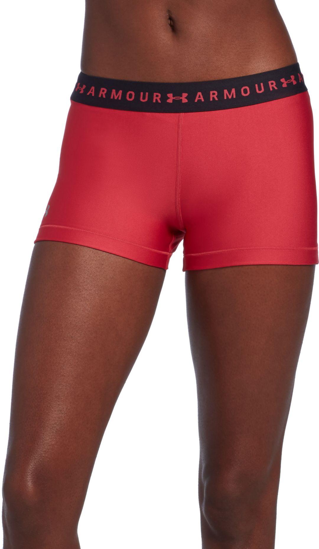 56cdf8cde6 Under Armour Women's HeatGear Armour Shorty Shorts