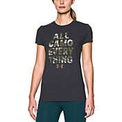 Under Armour Women's All Camo Everything T-Shirt