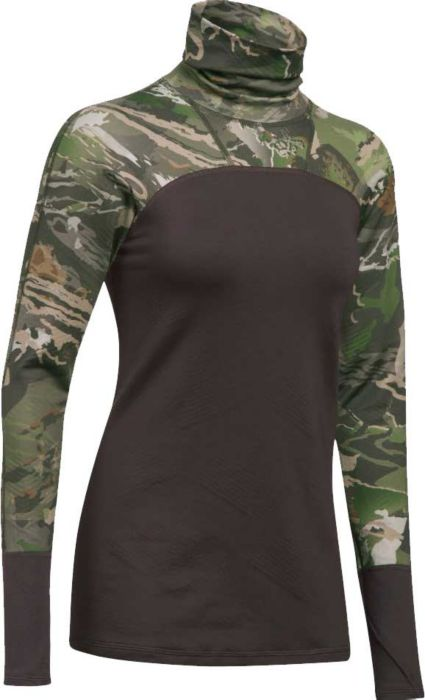 Under Armour Women's Tevo Cozy Neck Hunting Shirt