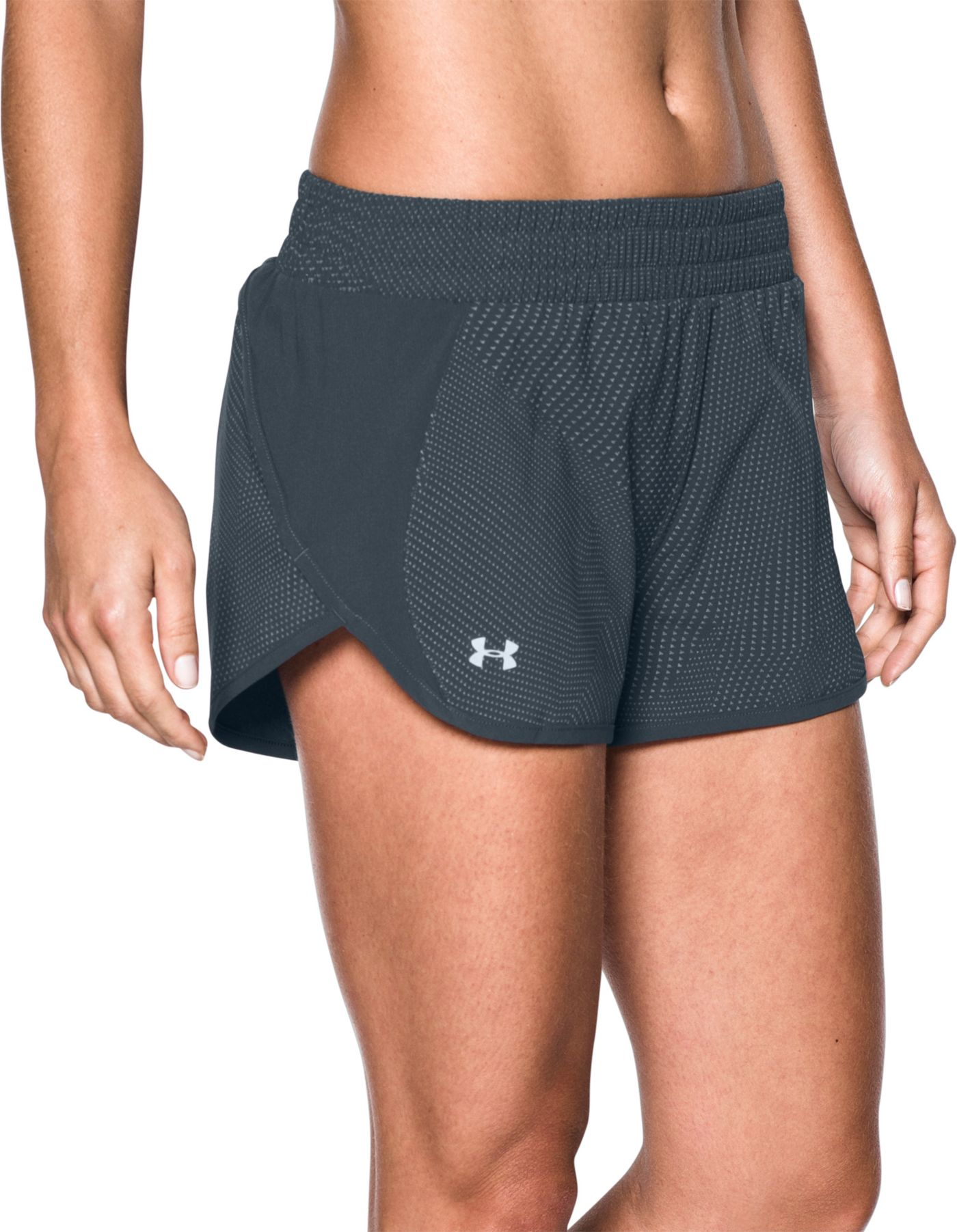 Under Armour Women's Tulip Reflective Printed Running Shorts