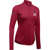 Under Armour NFL Combine Authentic Women's Arizona Cardinals Favorites Half-Zip Red Pullover