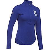 Under Armour NFL Combine Authentic Women's New York Giants Favorites Half-Zip Blue Pullover