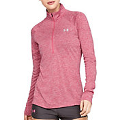 Under Armour Women's TechTwist Print  ½ Zip Long Sleeve Shirt