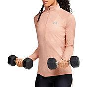 Under Armour Women's TechTwist Print  ½ Zip Long Sleeve Shirt