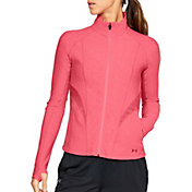 Under Armour Women's Threadborne Microthread Balance Disrupt Mesh Jacket
