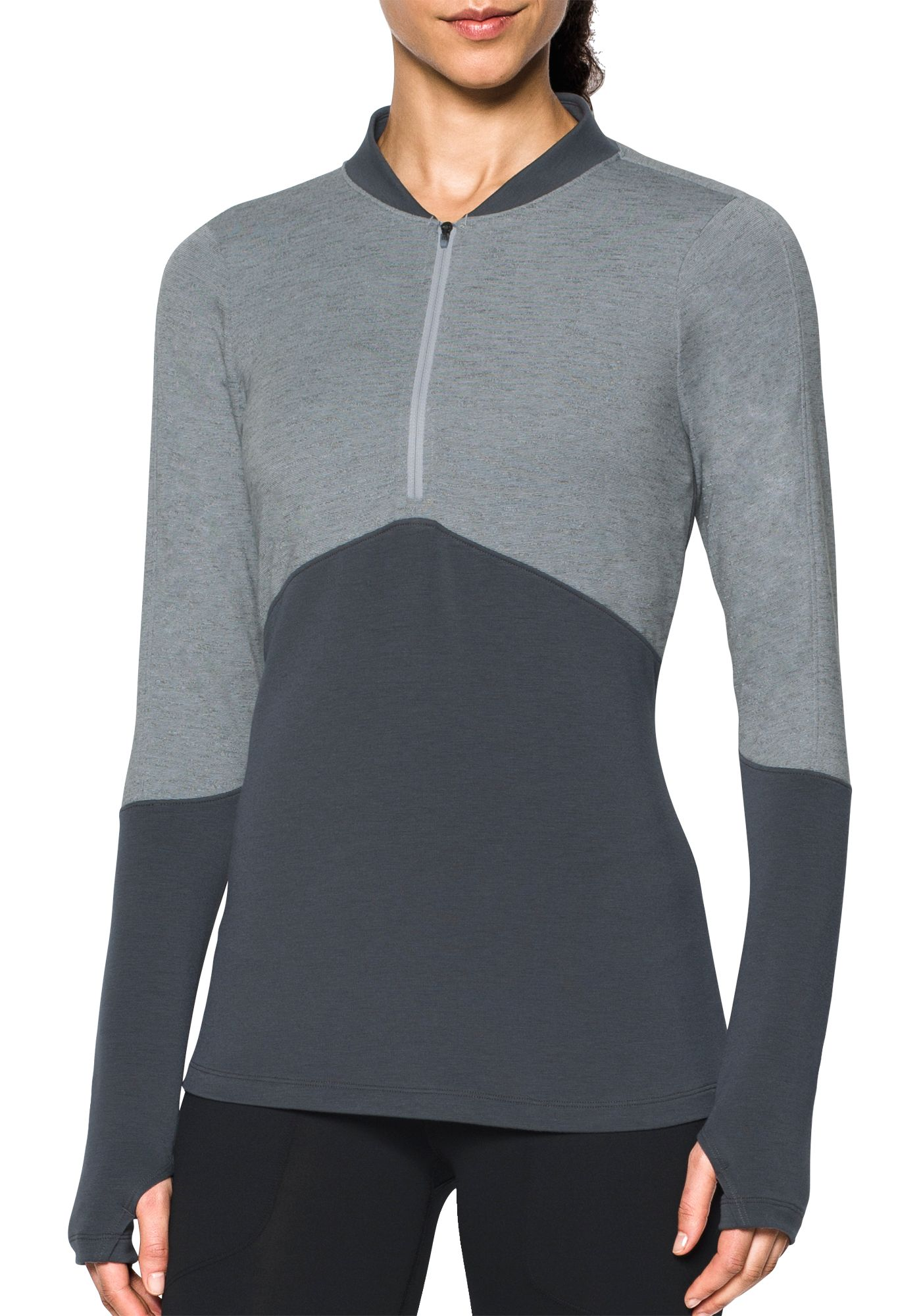 Under Armour Women's Threadborne 1/2-Zip Mock