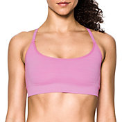 Under Armour Women's Heathered Threadborne Seamless Low-Impact Sports Bra