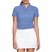 Under Armour Women's Threadborne Mock Golf Polo