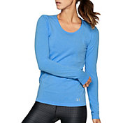 Under Armour Women's Threadborne Seamless Heathered Long Sleeve Shirt