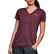 Under Armour Women's Threadborne Train Heather Print T-Shirt