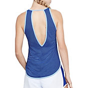 Under Armour Women's Threadborne Microthread Stryker Open Back Tank Top