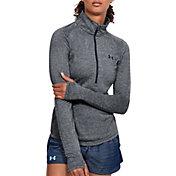 Under Armour Women's Threadborne Train Twist Print ½ Zip Long Sleeve Shirt