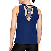 Under Armour Women's Tri-Blend Cutout Tank Top