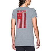 Under Armour Women's Freedom Flag 2.0 T-Shirt