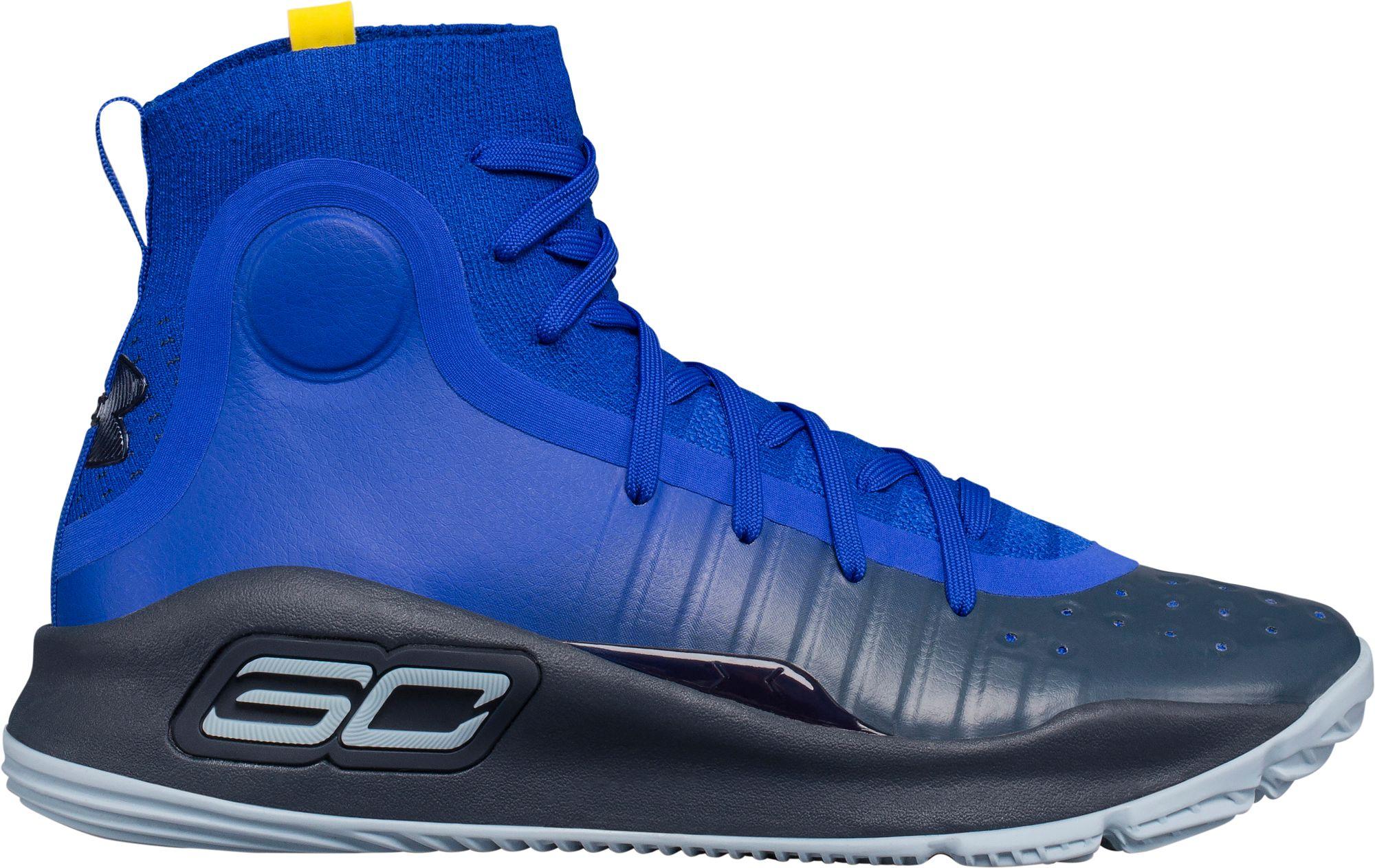 663847846ec Under Armour Kids  Grade School Curry 4 Basketball Shoes