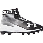 Under Armour Kids' Hammer Mid RM Football Cleats