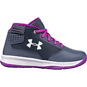 94b2ced9f652 Product Image · Under Armour Kids  Preschool Jet 2017 Basketball Shoes