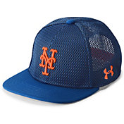Under Armour Youth New York Mets Twist Knit Adjustable Snapback Hat
