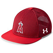 Under Armour Youth Los Angeles Angels Twist Knit Adjustable Snapback Hat