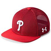 Under Armour Youth Philadelphia Phillies Twist Knit Adjustable Snapback Hat