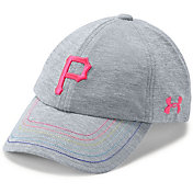 Under Armour Youth Girls' Pittsburgh Pirates Twisted Renegade Adjustable Hat