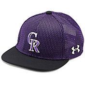 Under Armour Youth Colorado Rockies Twist Knit Adjustable Snapback Hat