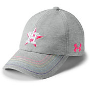 Under Armour Youth Girls' Houston Astros Twisted Renegade Adjustable Hat
