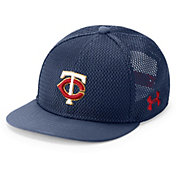 Under Armour Youth Minnesota Twins Twist Knit Adjustable Snapback Hat