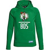 Under Armour Youth Boston Celtics Kelly Green Lockup Fleece Hoodie