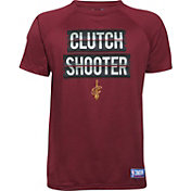 "Under Armour Youth Cleveland Cavaliers ""Clutch Shooter"" Burgundy Tech Performance T-Shirt"