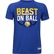 "Under Armour Youth Golden State Warriors ""Beast On Ball"" Royal Tech Performance T-Shirt"