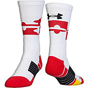 Under Armour Kids' Unrivaled Maryland Crew Socks