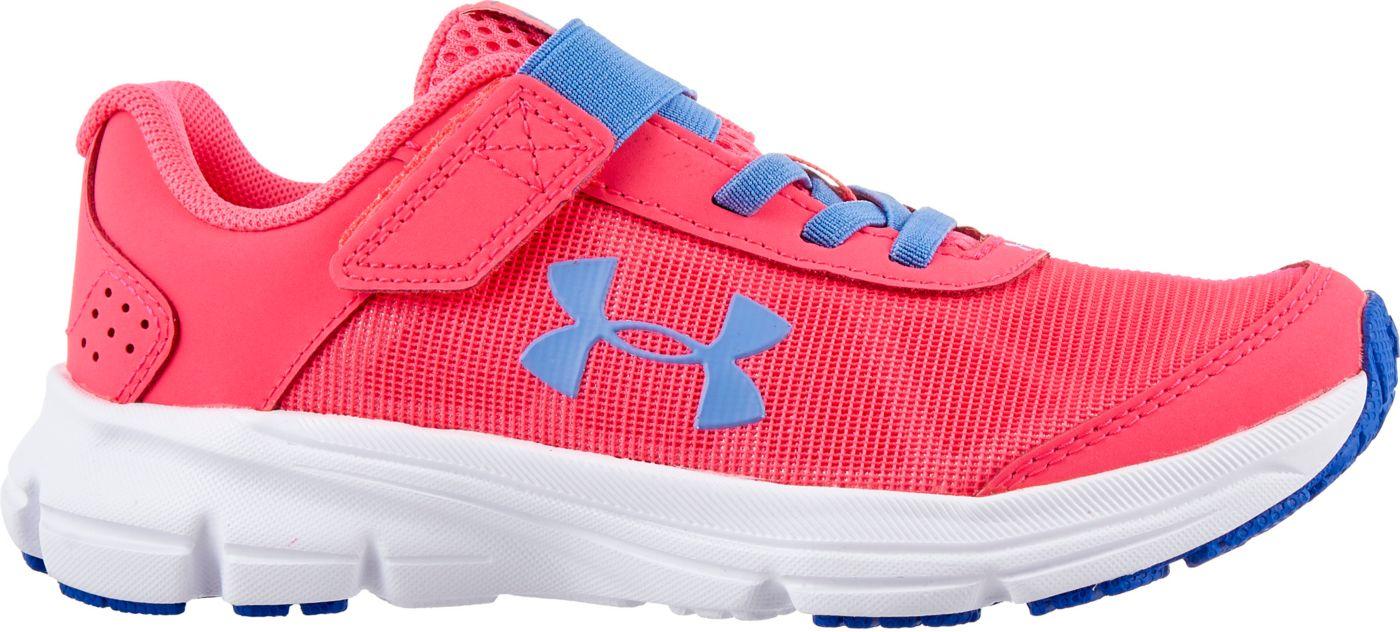 Under Armour Kids' Preschool Rave 2 AC Running Shoes