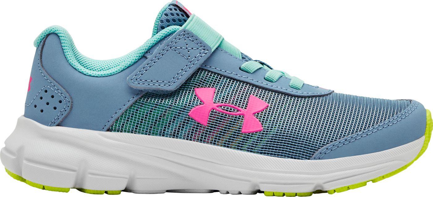 Under Armour Kids' Preschool GPS Rave RN AC Prism Running Shoes