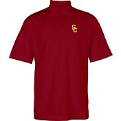 USC Authentic Apparel Men's USC Trojans Cardinal Interlock Polo