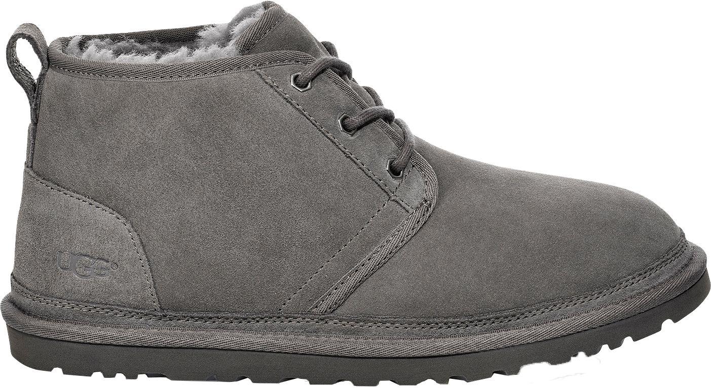 grey men ugg boots