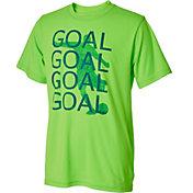 Umbro Boys' Goal Goal Goal Graphic Soccer T-Shirt