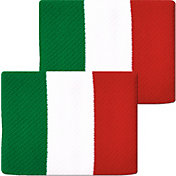 Unique Sports Italy Flag Soccer Wristbands