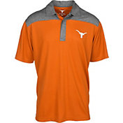 University of Texas Authentic Apparel Men's Texas Longhorns Burnt Orange Gaspar Polo
