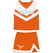 University of Texas Authentic Apparel Toddler Girls' Texas Longhorns Burnt Orange/White Victory Cheer Set
