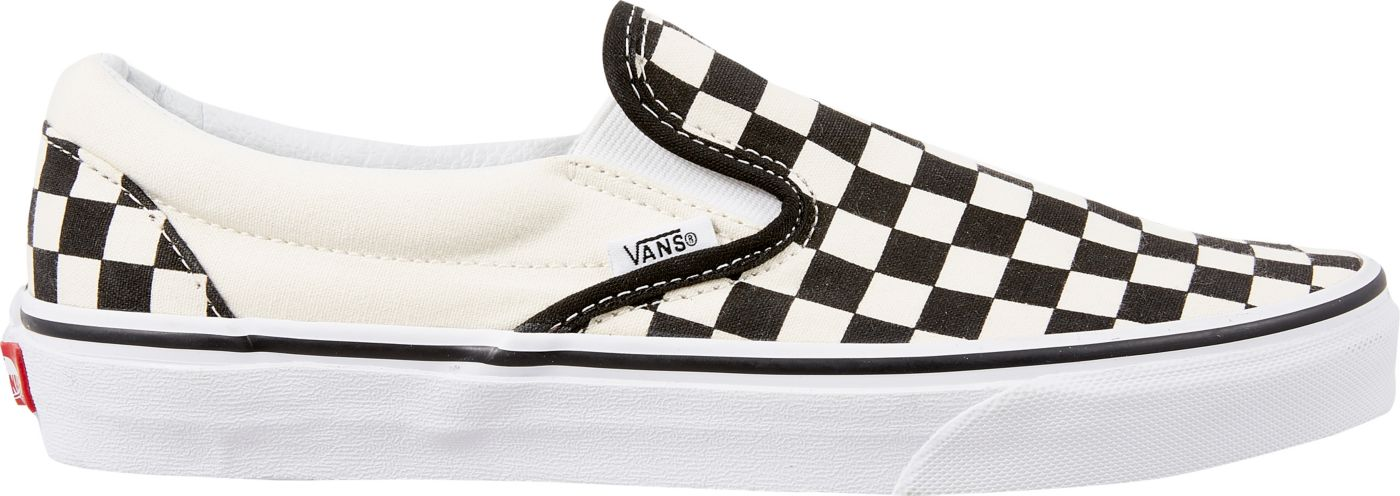 Vans Men's Checkerboard Slip-On Shoes