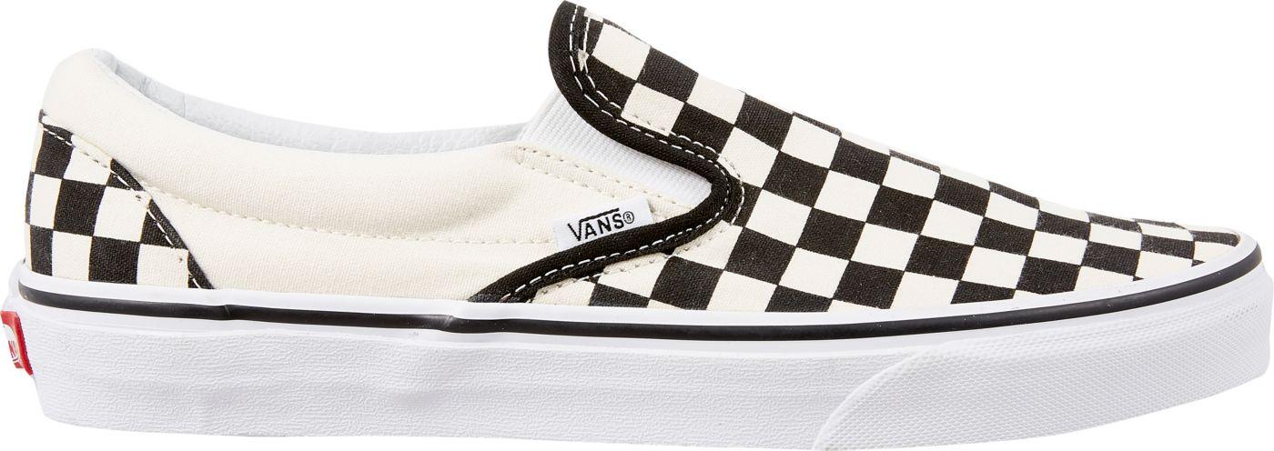 Vans Men's Checkerboard Slip-On Shoes