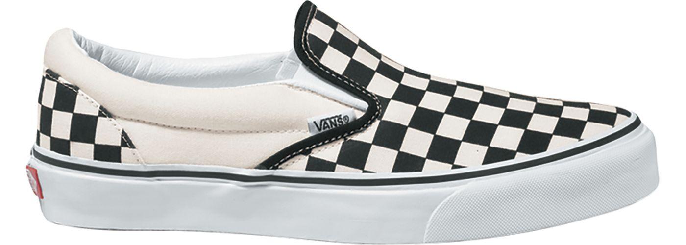 Vans Kids' Preschool Classic Checkerboard Slip-On Shoes