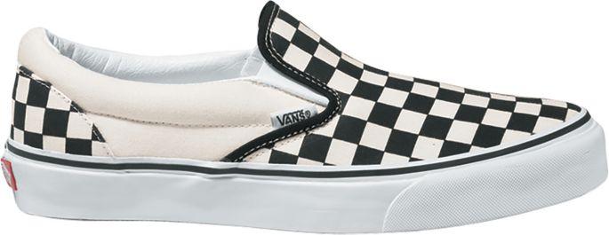 checkboard vans