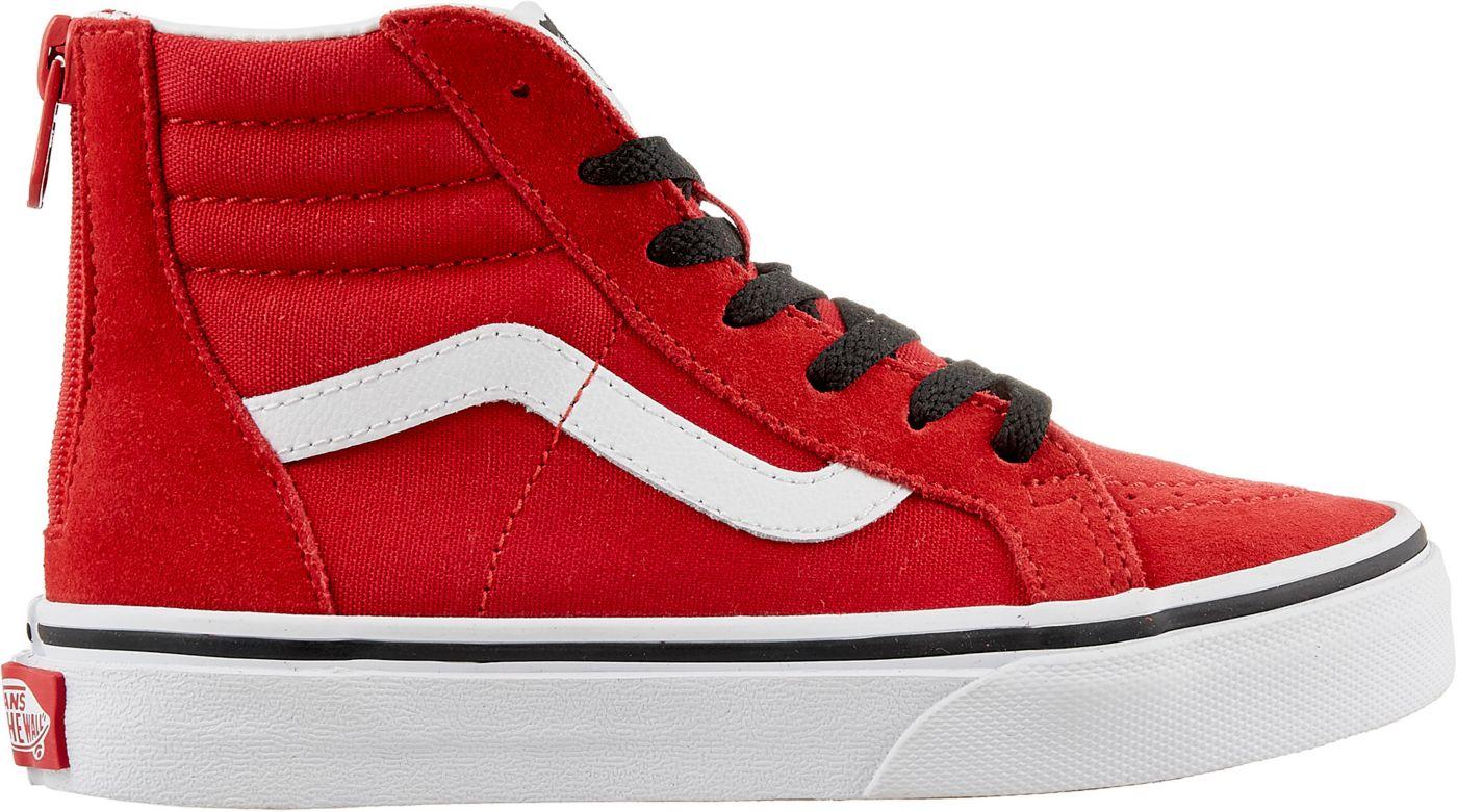 Vans Kids' Preschool Sk8-Hi Zip Shoes