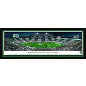 Blakeway Panoramas Michigan State Spartans Framed Panorama Poster