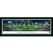 Blakeway Panoramas Michigan State Spartans Framed Panorama Poster