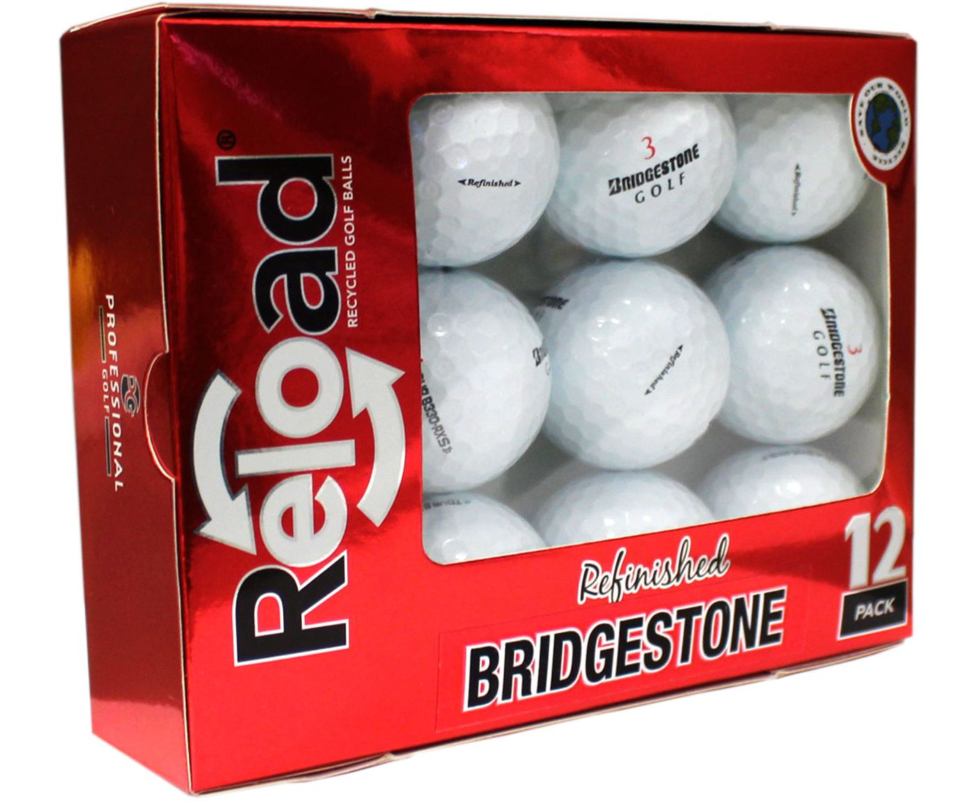 Refurbished Bridgestone Tour B330-RXS Golf Balls
