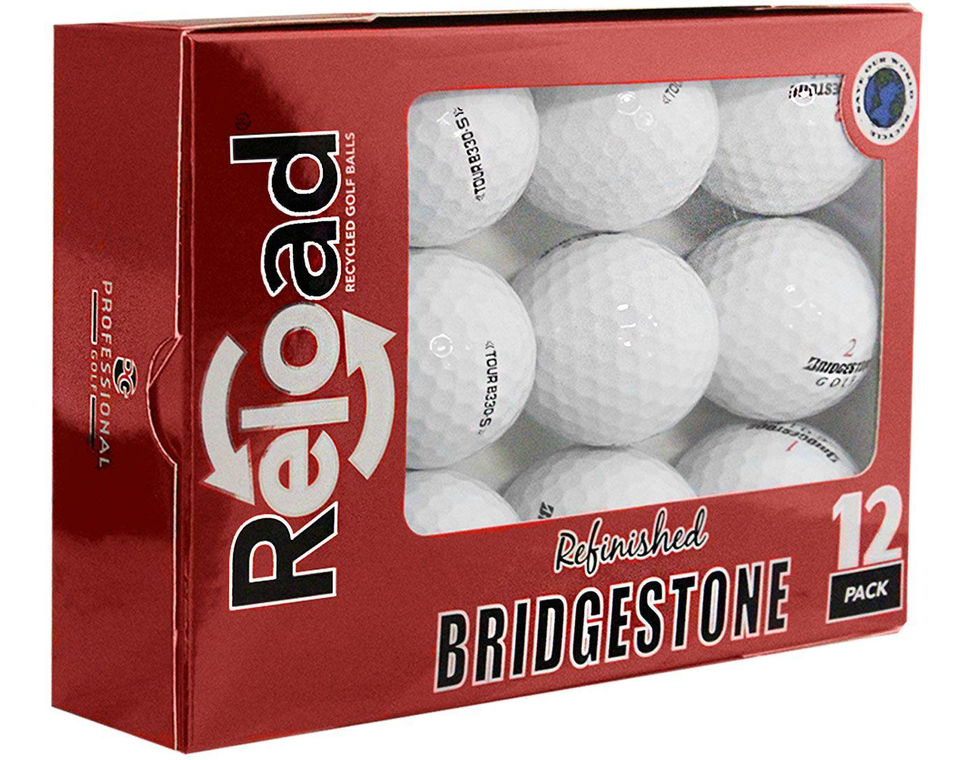 Refurbished Bridgestone Tour B330-S Golf Balls