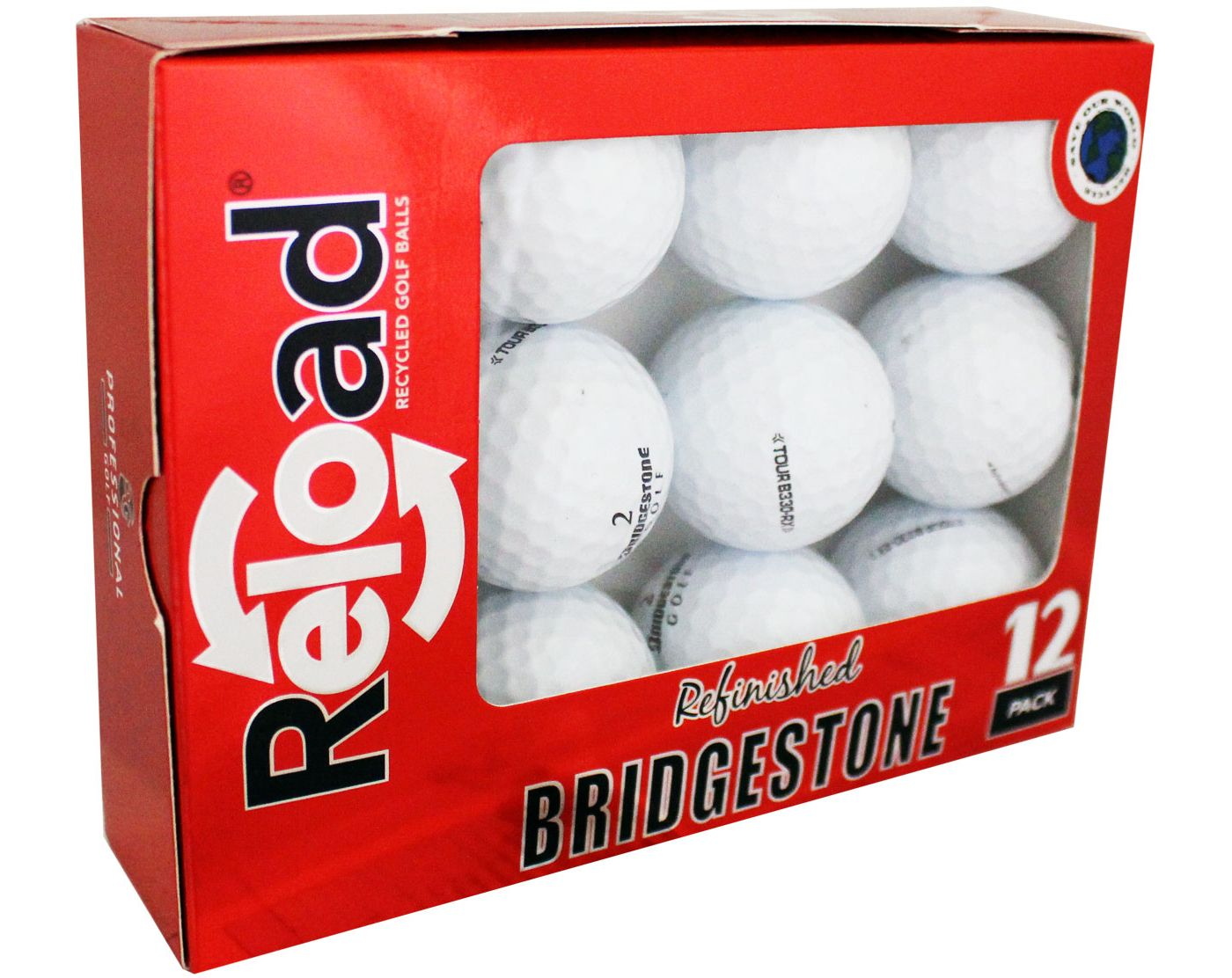 Refurbished Bridgestone Tour B330 Golf Balls